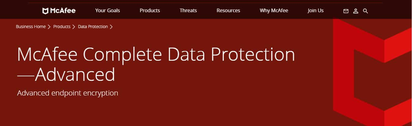 McAfee Complete Data Protection - Erweitert