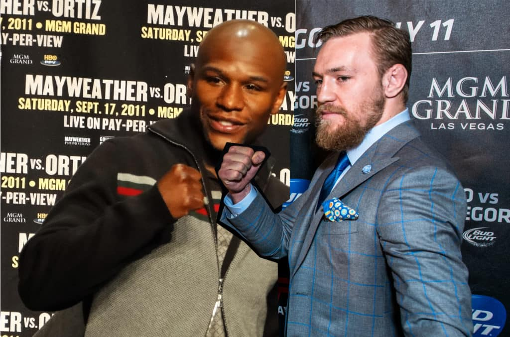 mayweather mcgregor mayweather مقابل mcgregor اعادتها