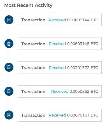 inviare bitcoin anonimo