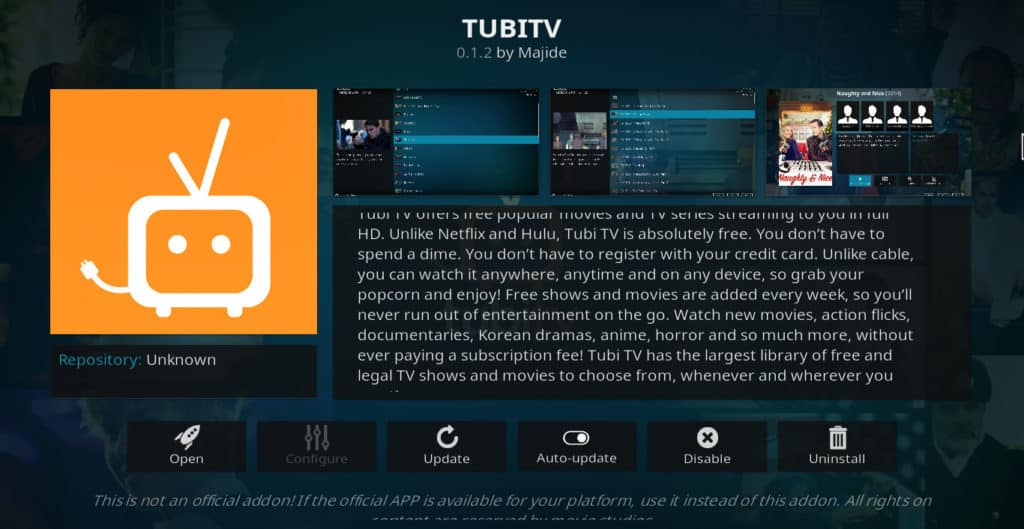 Tubi TV, otra gran apuesta de los servicios de transmisión gratis.